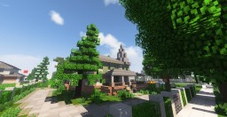 luxury Victorian mansion in Whitestone - Greenfield Minecraft Map & Project