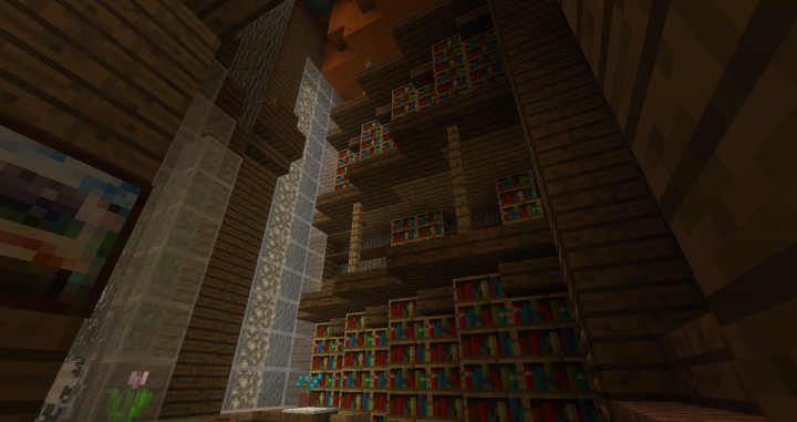 Extensive multi-level library