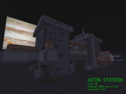 AXTIN: A WORLD BEYOND EARTH Minecraft Project