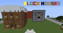 Proxwarrior33's Block houses Minecraft Project
