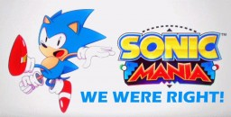 We were right about Sonic Mania and Forces [SPOILERS FOR MANIA!!] Minecraft Blog Post