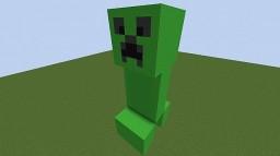 Creeper bulding tutorial Minecraft Project