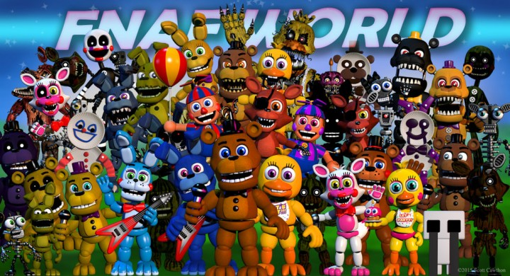 Fnaf world role play map minecraft project fnaf world gumiabroncs Choice Image