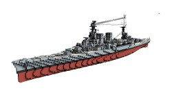British Battlecruiser HMS Hood 1:1 Minecraft Map & Project