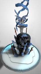 Ice Skull Minecraft Project