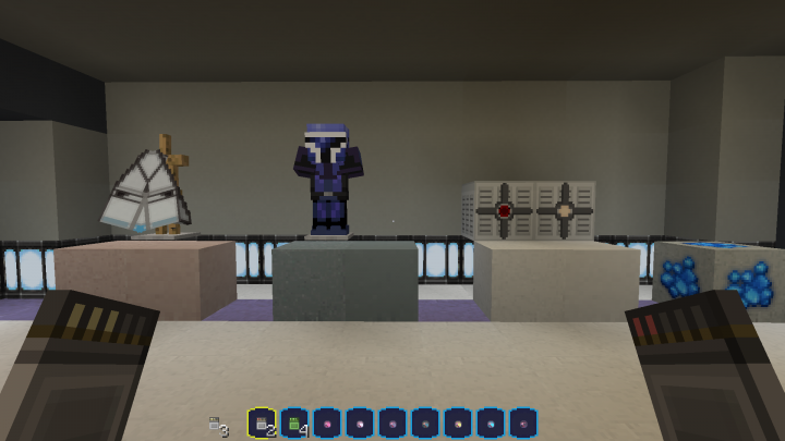 Some of the New Blocks and models ive made. Notice the arrows change based on stack and those are lingering potions