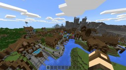 Small Village and Castle Minecraft Project