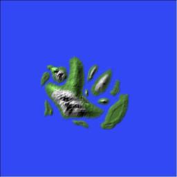Karya The Lost Island Minecraft Project
