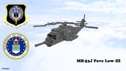 Sikorsky MH-53J Pave Low III  USAF 1,5:1 Minecraft Project