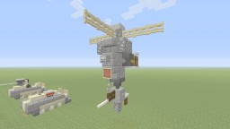 Bioshock Security bot Minecraft Project