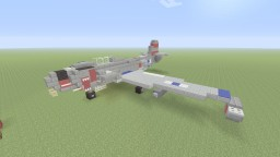 US Lockheed P-80 Shooting Star fighter jet Minecraft Map & Project