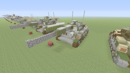 GATE Type-74 special region version Minecraft Map & Project
