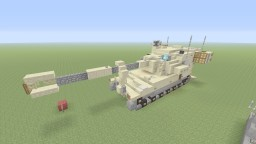 U.S M109A6 Paladin self propelled gun Minecraft Project