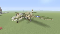 "Douglas A-20 Havoc ""Little Joe"" light bomber Minecraft"
