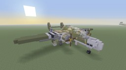 "Northrop P-61 Black Widow ""Borrowed Time"" Night fighter Minecraft Project"