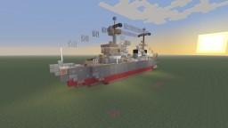 IJN Akashi repair ship bathtub build Minecraft Project