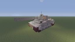 WWII German Panzer VI, Tiger I heavy tank Minecraft Project