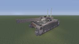 Girls und Panzer Centurion Mk.I Selection University version Minecraft Project