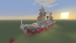Gangut Fast Battleship bathtub build Minecraft