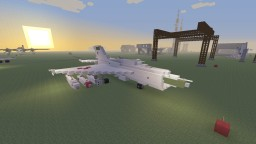 Soviet MiG-21 fighter jet Minecraft Project