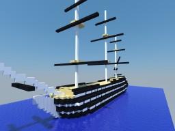 USS Pennsylvania Minecraft Project