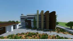 Ultra Modern Home - Behind the Picket Fence Finalist Minecraft Map & Project