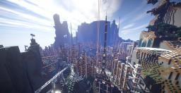 Virturia - Scale Dystopian City V1.2 Minecraft Map & Project