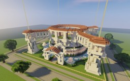 Ultra Roman Temple Minecraft