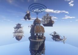 Valencia, the sky shipyard Minecraft Map & Project