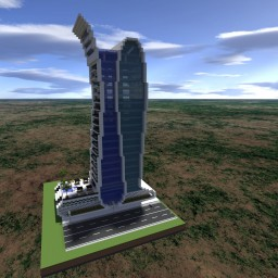 Pearl Continental Tower | Hotel/Residences | [PC World + Download] Minecraft Map & Project