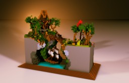 Small Rectangle Plot   Build By CrohPsh Minecraft Project