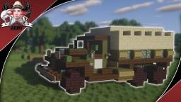WW2 GMC CCKW LWB 353 | 2 1/2-Ton 6x6 Cargo Truck Minecraft Map & Project