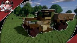 WW2 ZIS-6 | 6x4 Cargo Truck Minecraft Map & Project