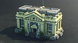Bank Building Minecraft Project