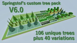 [Treepack] Custom Trees V6.0 (Download) Minecraft Map & Project