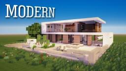 Modern House 3 Minecraft Project