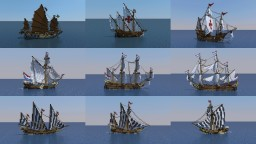 Ship Collection Minecraft