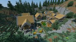 Vanilla-Like Village Minecraft Map & Project