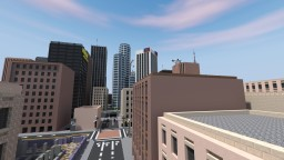 Downtown San Clovis Minecraft Map & Project