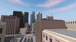 Downtown San Clovis Minecraft Project