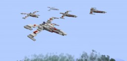 X-Wing Minecraft Map & Project