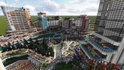 [ Innova Creation ] The City Of Color - Future City! Minecraft Project