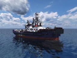 SVITZER PEMBROKE Tug Boat Minecraft Map & Project