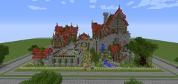 "Four Homes, a Tavern and a Bridge ~ ""Behind the Picket Fence"" Contest Minecraft Map & Project"