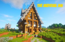 The Medieval Inn - Minecraft Project [FULL INTERIOR] Minecraft Project