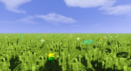 [Tutorial] World-Edit - Planting flowers with commands Minecraft