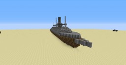 CSS Virginia Ironclad Minecraft Project