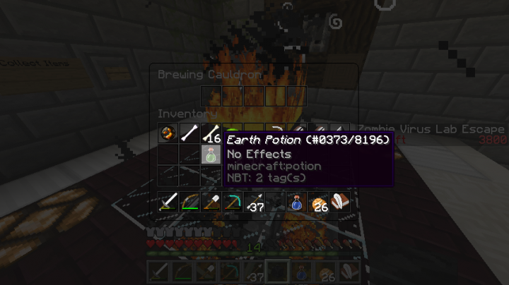 Brew custom-made potions such as freeze potions, ressurection potions, and anti potions!