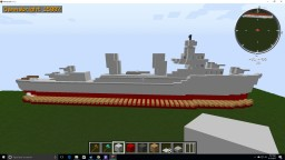 WWII Destroyer Minecraft Map & Project