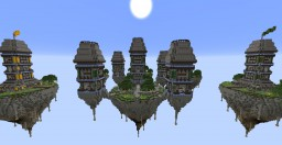 BedWars Towers Island Minecraft Project
